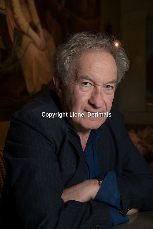 British writer Simon Schama photographed in London.