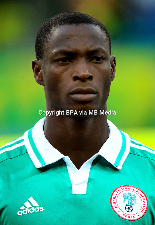 Football Fifa Brazil 2014 World Cup / <br /> Nigeria National Team - <br /> Anthony UJAH of Nigeria