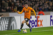 Oskar Burr of Wolverhampton Wanderers during the Europa League match between Wolverhampton Wanderers and Besiktas at Molineux, Wolverhampton, England on 12 December 2019.