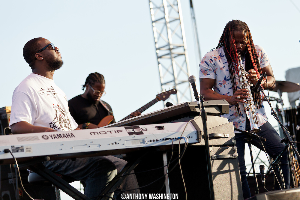 The Robert Glasper Experiment  performs as part of the DC Jazz Festival at the Capital River Front on Saturday, June 28, 2014 in Washington, DC.