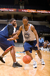 G/F Jamal Coombs-McDaniel (Tilton, NH / The Tilton School).  The NBA Player's Association held their annual Top 100 basketball camp at the John Paul Jones Arena on the Grounds of the University of Virginia in Charlottesville, VA on June 20, 2008