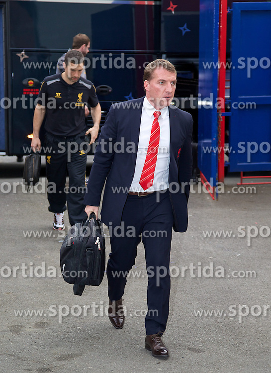 05.05.2014, Selhurst Park, London, ENG, Premier League, Crystal Palace vs FC Liverpool, 37. Runde, im Bild Liverpool's manager Brendan Rodgers // during the English Premier League 37th round match between Crystal Palace and Liverpool FC at the Selhurst Park in London, Great Britain on 2014/05/05. EXPA Pictures &copy; 2014, PhotoCredit: EXPA/ Propagandaphoto/ David Rawcliffe<br /> <br /> *****ATTENTION - OUT of ENG, GBR*****