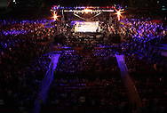 Picture by Richard Gould/Focus Images Ltd +44 7855 403186<br /> 13/07/2013<br /> The crowd wait for Kell Brook and Carson Jones  to enter the ring before there fight during their International Welterweight contest at Craven Park, Hull.