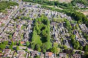 Nederland, Limburg, Gemeente Heerlen, 27-05-2013; mijnwerkerskolonie in de wijk Rennemig-Beersdal. Rijksbeschermd gezicht Heerlen - Beersdal.<br /> Miners colony, housing project.<br /> luchtfoto (toeslag op standaardtarieven);<br /> aerial photo (additional fee required);<br /> copyright foto/photo Siebe Swart.