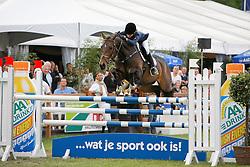Van de Poel Vicky (BEL) - Whisper<br /> CSI Grobbendonk 2009<br /> Photo © Dirk Caremans