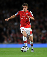 Aaron Ramsey<br /> Arsenal 2008/09<br /> Arsenal V Sheffield United (6-0) 23/09/08<br /> The Carling Cup<br /> Photo Robin Parker Fotosports International