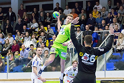 03.02.2017, BSFZ Suedstadt, Maria Enzersdorf, AUT, HLA, SG INSIGNIS Handball WESTWIEN vs HC FIVERS WAT Margareten, HLA Oberes Playoff, 1. Runde, im Bild Sebastian Frimmel (SG INSIGNIS Handball WESTWIEN) // during Handball League Austria, upper play off, 1 st round match between SG INSIGNIS Handball WESTWIEN and HC FIVERS WAT Margareten at the BSFZ Suedstadt, Maria Enzersdorf, Austria on 2017/02/03, EXPA Pictures © 2017, PhotoCredit: EXPA/ Sebastian Pucher