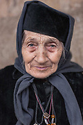 Sometime after her 40th birthday, Grandma Todorka, then a widow and mother of two sons, had a vision of God. She vividly remembers how God told her to give her children up for adoption in a foster home and to dedicate her life to serving the church in her home town, Berkovitsa. Then the church hadn&rsquo;t been functional. But Grandma Todorka followed her vision and did as told. For the next 40 years she helped the church&rsquo;s priest restore the building and open it for the public. She volunteered as a servant in the church until the rest of her life. On these two photographs, Grandma Todorka is 87 years old.<br /> <br /> December 2008