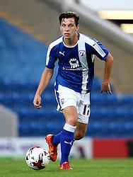 Connor Dimaio of Chesterfield - Mandatory by-line: Matt McNulty/JMP - 02/08/2016 - FOOTBALL - Pro Act Stadium - Chesterfield, England - Chesterfield v Leicester City - Pre-season friendly