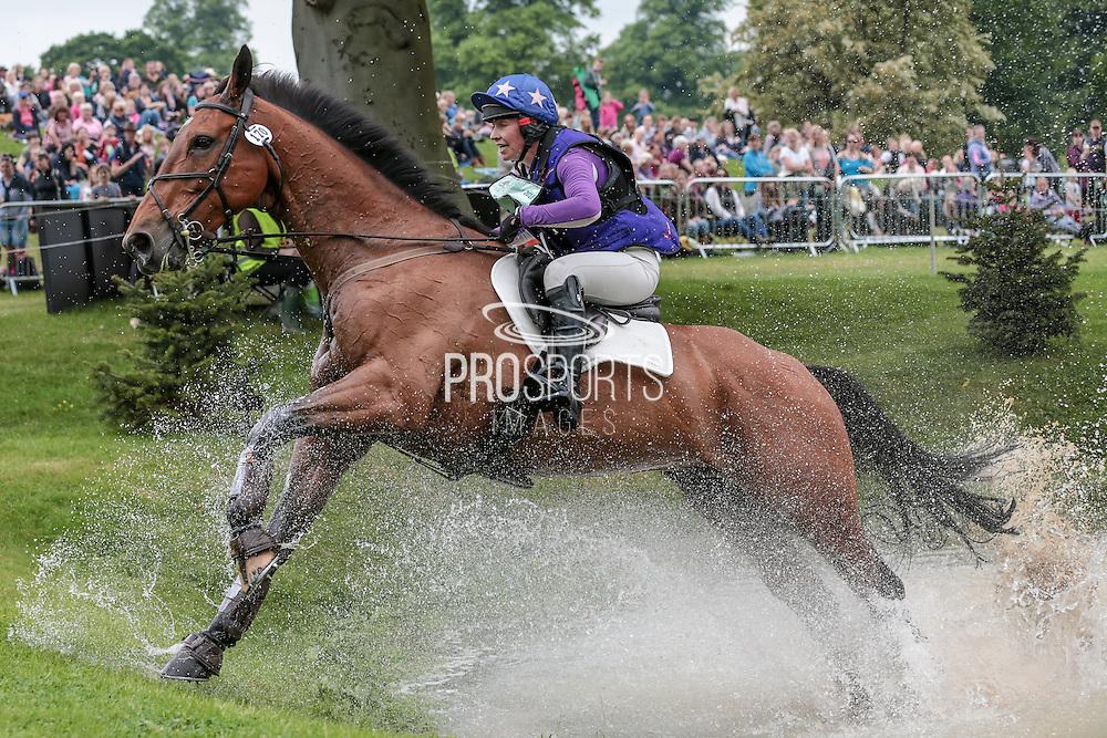 COOLEY EARL ridden by Georgie Strang at Bramham International Horse Trials 2016 at  at Bramham Park, Bramham, United Kingdom on 11 June 2016. Photo by Mark P Doherty.