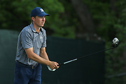 March 29, 2019 - Austin, Texas, United States - Jordan Spieth tees off the 15th hole during the third round of the 2019 WGC-Dell Technologies Match Play at Austin Country Club. (Credit Image: © Debby Wong/ZUMA Wire)
