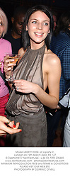 Model LIBERTY ROSS  at a party in London on 19th March 2003.	PIE 127