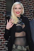 Gwen Stefani Late Show Appearance