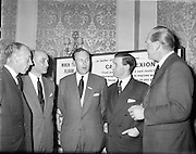 Dexion Reception at the  Royal Hibernian Hotel..24.03.1961