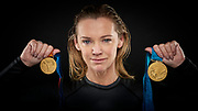 Shirley Robertson, a British sailor who won two Olympic Gold medals, mother of two and presenter at CNN TV Series Mainsail. Living in Cowes England.<br />
