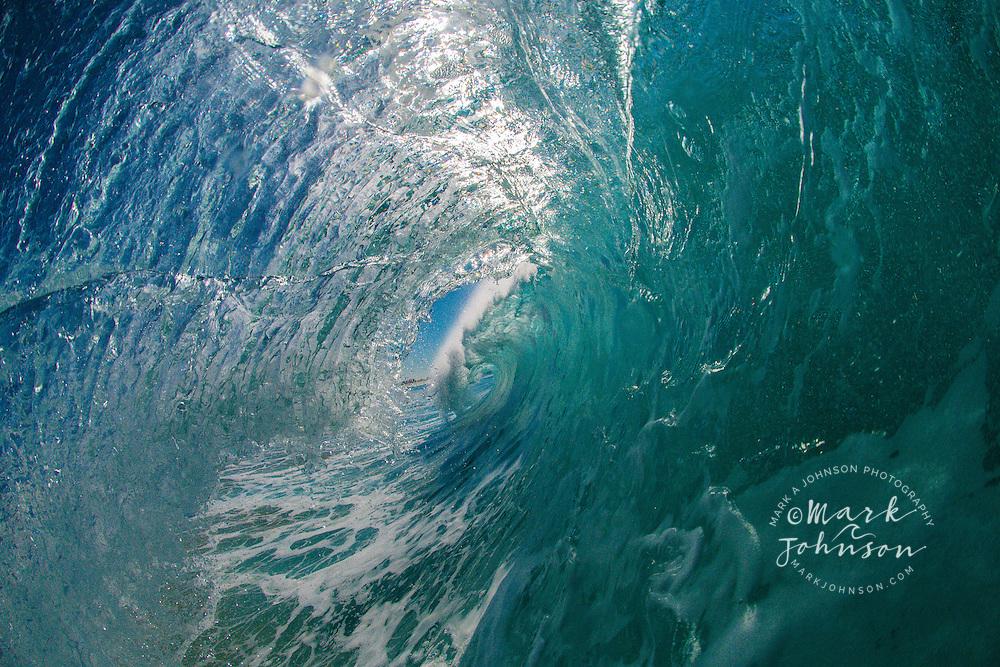 Breaking wave, Gold Coast, Queensland, Australia