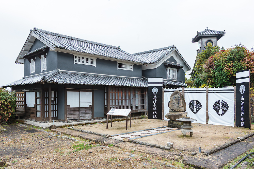 One of the buildings in Ninja Village (Hizenyumekaido)