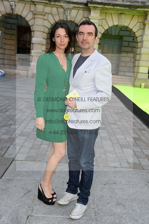 MARY McCARTNEY and SIMON ABOUD at the preview party for The Royal Academy Of Arts Summer Exhibition 2013 at Royal Academy of Arts, London on 5th June 2013.