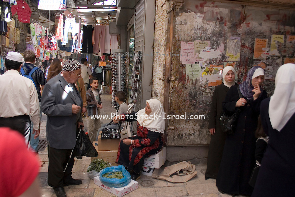 Israel, Jerusalem, Market in old city