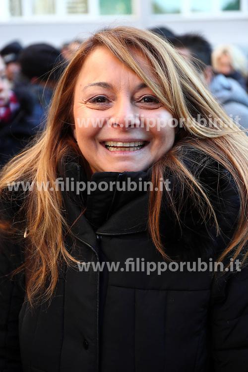 MAURA TOMASI<br /> PROTESTA CONSULTA OSPEDALE SAN CAMILLO CONTRO ARRIVO PROFUGHI