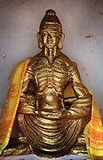 Image of an emaciated Buddha at the Mahakala