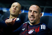 Bayern Munich's French midfielder Franck Ribery gives a thumbs-up before the UEFA Champions League, Group B football match between Paris Saint-Germain and Bayern Munich on September 27, 2017 at the Parc des Princes stadium in Paris, France - Photo Benjamin Cremel / ProSportsImages / DPPI