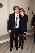 DAVE CLARK; PRINCESS BEATRICE, The Tomodachi ( Friends) Charity Dinner hosted by Chef Nobu Matsuhisa in aid of the Unicef  Japanese Tsunami Appeal. Nobu Berkeley St. London. 5 May 2011. <br /> <br />  , -DO NOT ARCHIVE-© Copyright Photograph by Dafydd Jones. 248 Clapham Rd. London SW9 0PZ. Tel 0207 820 0771. www.dafjones.com.