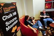 The Linux Foundation hosts their Collaboration Summit at the Hyatt Vineyard Creek Hotel and Spa in Santa Rosa, California, on February 19, 2015. (Stan Olszewski/SOSKIphoto)