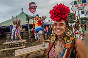 The 2017 Glastonbury Festival, Worthy Farm. Glastonbury, 23 June 2017