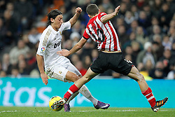 22.01.2012, Santiago Bernabeu Stadion, Madrid, ESP, Primera Division, Real Madrid vs Athletic Bilbao, 1. Spieltag, Nachtrag, im Bild Real Madrid's and Athletic de Bilbao's // during the football match of spanish 'primera divison' league, 1th round, supplement, between Real Madrid and Athletic Bilbao at Santiago Bernabeu stadium, Madrid, Spain on 2012/01/22. EXPA Pictures © 2012, PhotoCredit: EXPA/ Alterphotos/ Cesar Cebolla..***** ATTENTION - OUT OF ESP and SUI *****