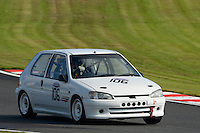 #106 John Allen Peugeot 106 1600 during the CSCC Tin Tops at Oulton Park, Little Budworth, Cheshire, United Kingdom. October 15 2016. World Copyright Peter Taylor/PSP. <br /> Copy of publication required for printed pictures.  Every used picture is fee-liable. http://archive.petertaylor-photographic.co.uk