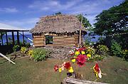 Grass Shack, Faiaai, Savaii, Samoa<br />
