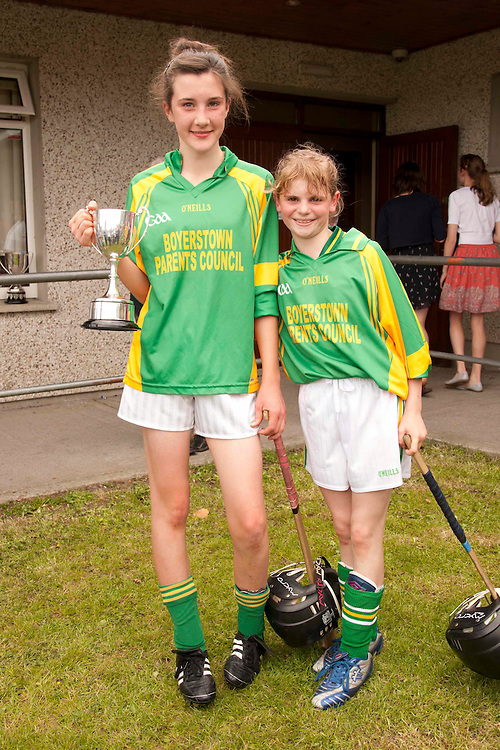 Allianz Cumann na mBunScoil Primary School Hurling & Camogie Finals at Dunsany_11/6/2011.Division 3 Camogie Final, Kilmessan N.S. v St. Josephs N.S. Boyerstown..Photo: David Mullen / www.quirke.ie ©John Quirke Photography, Unit 17, Blackcastle Shopping Cte. Navan. Co. Meath. 046-9079044 / 087-2579454.