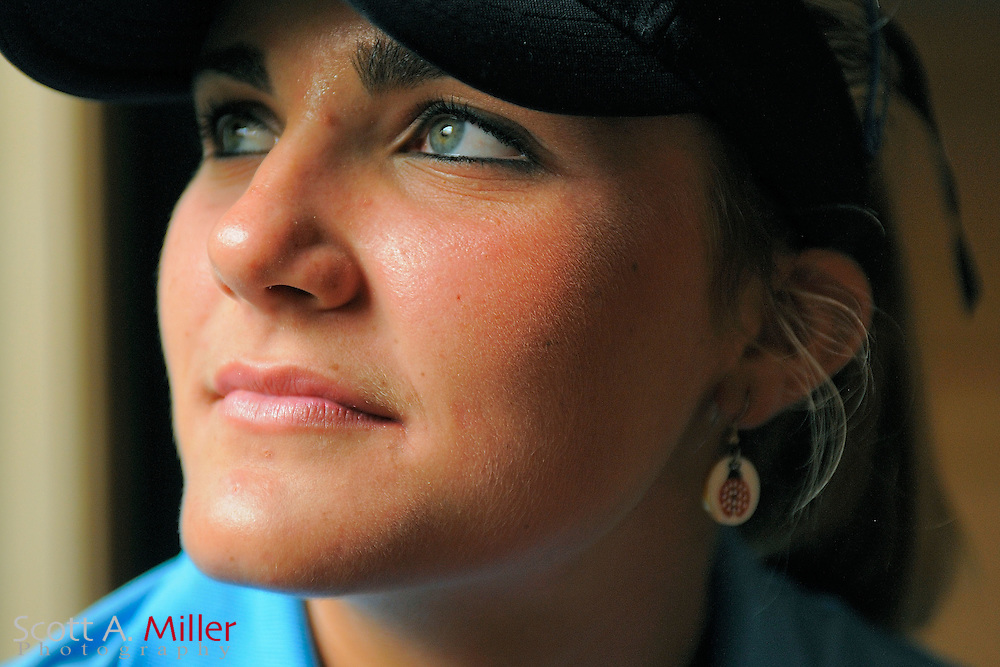 Portrait sesssion with Lexi Thompson prior to the CME Group Titleholders at Grand Cypress Resort on Nov. 15, 2011 in Orlando, Fla.  ..©2011 Scott A. Miller