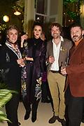 ROSANNA FALCONER, ROBBIE HONEY; SVTESLAV KOHCHGAR, The Datai Langkawi Relaunch event, Spring, Somerset House,  London. 1 March 2018