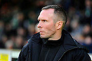Oxford Utd manager Michael Appleton during the Sky Bet League 2 match between Yeovil Town and Oxford United at Huish Park, Yeovil, England on 28 December 2015. Photo by Graham Hunt.