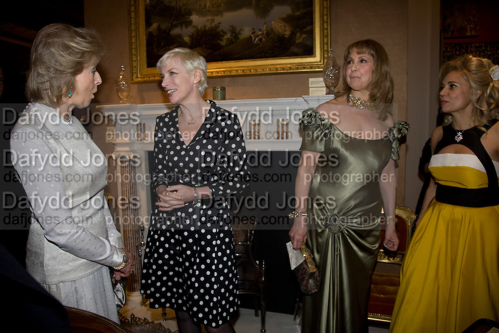 PRINCESS ALEXANDRA, ANNIE LENNOX, MARIA  SHAMMAS AND MRS. ELENA AMBROSIADOU. La Vie En Rose, Royal Charity Gala in aid of the Red Cross. The Grosvenor House Antiques Fair. Grosvenor House. Park Lane. London. 11 June 2008.  *** Local Caption *** -DO NOT ARCHIVE-© Copyright Photograph by Dafydd Jones. 248 Clapham Rd. London SW9 0PZ. Tel 0207 820 0771. www.dafjones.com.