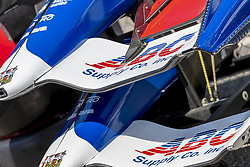 April 21, 2018 - Birmingham, Alabama, United States of America - AJ Foyt Racing crew waits for a practice session for the Honda Indy Grand Prix of Alabama at Barber Motorsports Park in Birmingham Alabama. (Credit Image: © Walter G Arce Sr Asp Inc/ASP via ZUMA Wire)