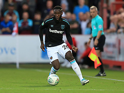 Arthur Masuaku of West Ham United - Mandatory by-line: Paul Roberts/JMP - 23/08/2017 - FOOTBALL - LCI Rail Stadium - Cheltenham, England - Cheltenham Town v West Ham United - Carabao Cup