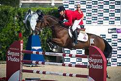 Lamaze Eric (CAN) - Fine Lady 5<br /> Tropheo Coca Cola<br /> Furusiyya FEI Nations Cup™ Final - Barcelona 2014<br /> © Dirk Caremans