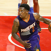 31 October 2016: Phoenix Suns guard Eric Bledsoe (2) dribbles during the Los Angeles Clippers 116-98 victory over the Phoenix Suns, at the Staples Center, Los Angeles, California, USA.