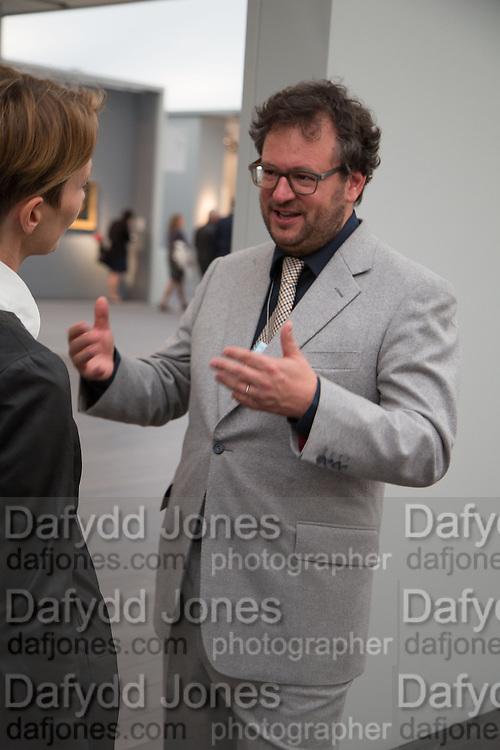 IVAN WIRTH, VIP Opening of Frieze Masters. Regents Park, London. 9 October 2012