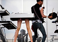 June 5, 2016 - Chromeo performing during Day 1 of The Governors Ball NYC Music Festival at Randall's Island Park.