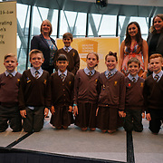 """City Hall, London, Uk, 29th June 2017. Thorpe Hall Primary School, St Mary Primary School """"Sliver and Gold Awards"""" of the City Hall awards at the Health and education experts celebrate London's healthiest schools."""