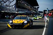 June 16-17, 2018: 24 hours of Le Mans. 56 Team Project 1, Porsche 911 RSR, Jorg Bergmeister, Patrick Lindsey, Egidio Perfetti