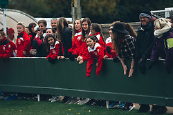 Bristol City Women fans - Rogan Thomson/JMP - 06/11/2016 - FOOTBALL - The Northcourt Stadium - Abingdon-on-Thames, England - Oxford United Women v Bristol City Women - FA Women's Super League 2.