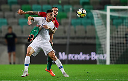 Bojan Jokic of Slovenia during football match between National Teams of Slovenia and Bulgaria in Final Tournament of UEFA Nations League 2019, on September 6, 2018 in SRC Stozice, Ljubljana, Slovenia. Photo by Morgan Kristan / Sportida