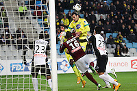 Goal Oswaldo VIZCARRONDO - 16.12.2014 - Nantes / Metz - Coupe de la Ligue -<br />