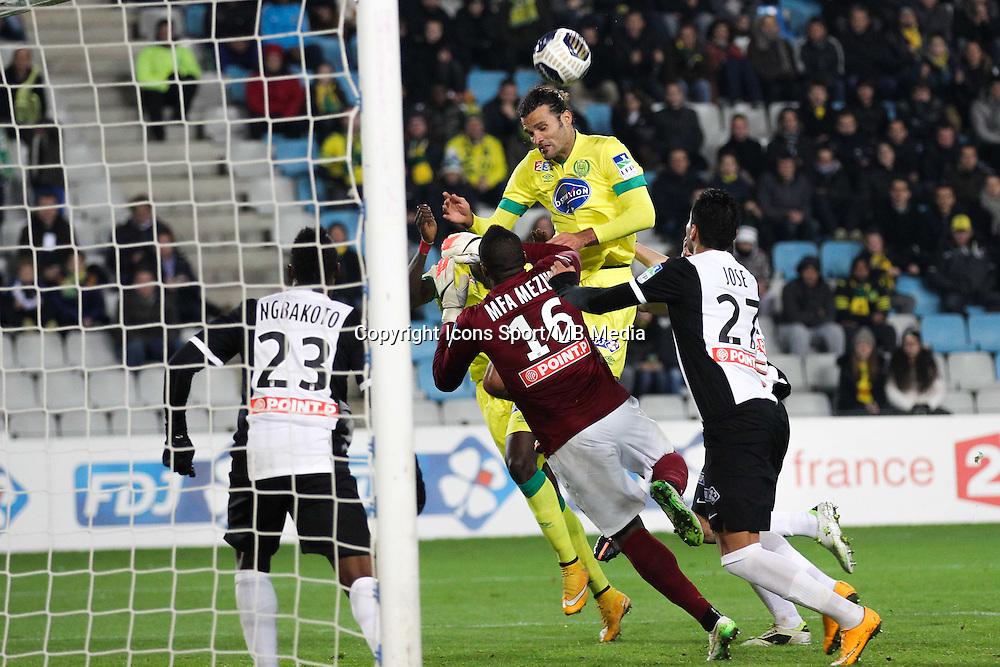 Goal Oswaldo VIZCARRONDO - 16.12.2014 - Nantes / Metz - Coupe de la Ligue -<br />Photo : Vincent Michel / Icon Sport