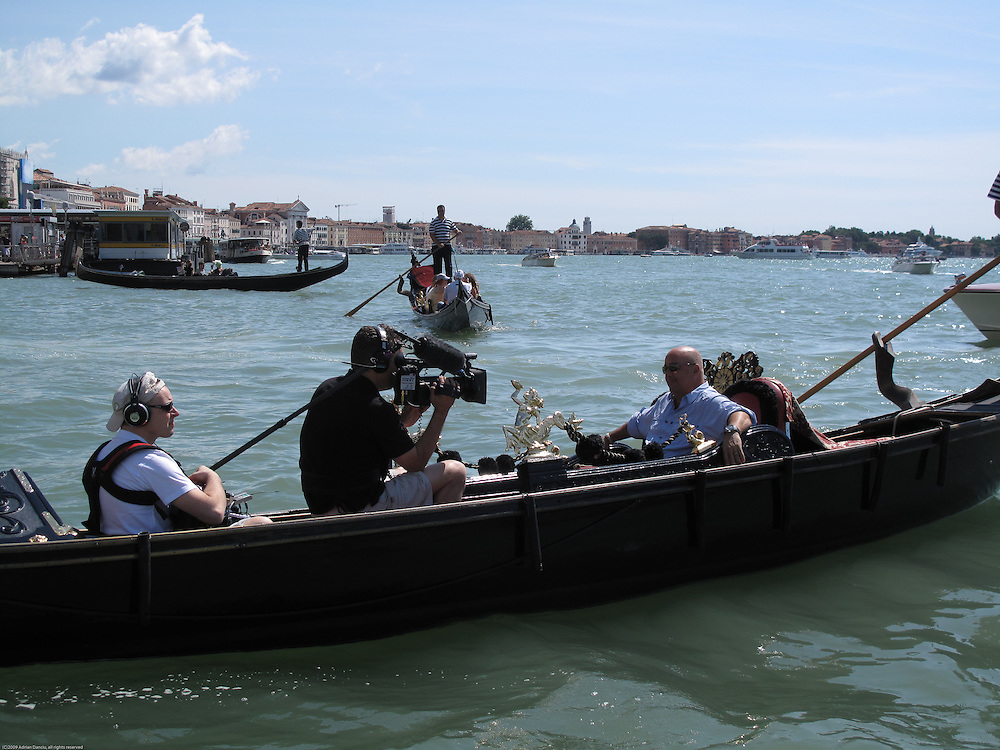 Bizarre Foods w/ Andrew Zimmern, Venice, Italy episode.<br /> BTS and other perspectives.